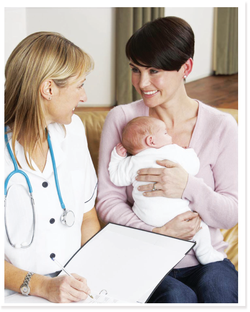 doctor-with-mother-baby