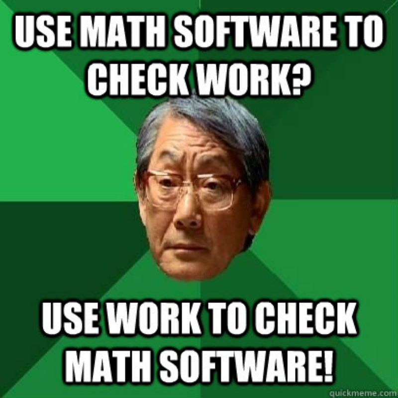 High expectation Asian father on maths software
