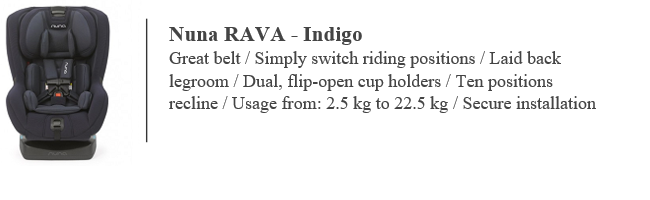 Nuna Indiga Rava Car Seat