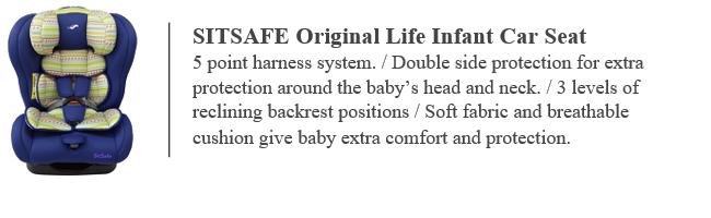 Sitsafe original life, car seat