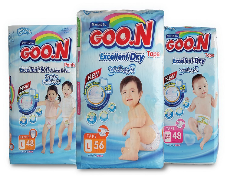 Goon baby diapers