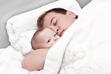 dads sleeping