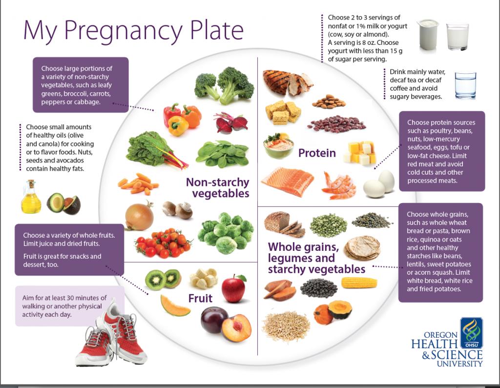 diet for preganancy