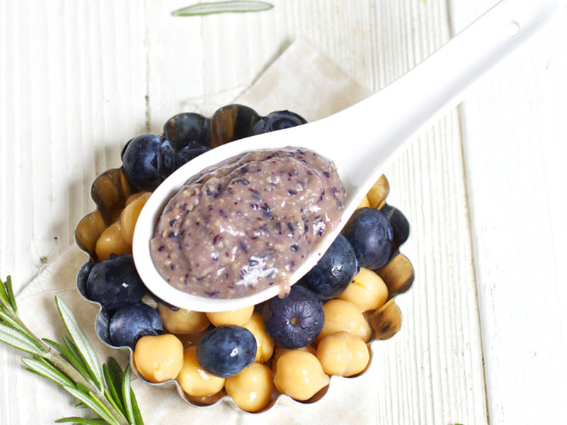 Blueberry + Chickpeas