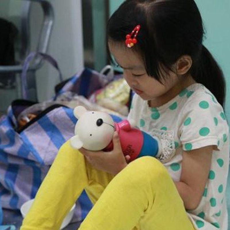 sick little girl