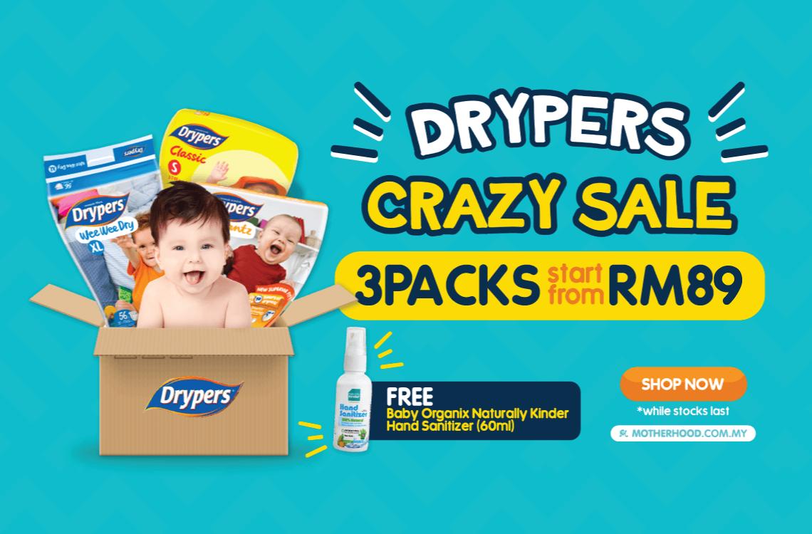 f136c8de55ea Drypers Crazy Sale