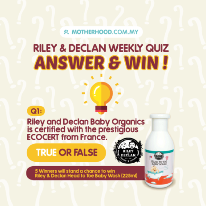 riley & declan weekly quiz