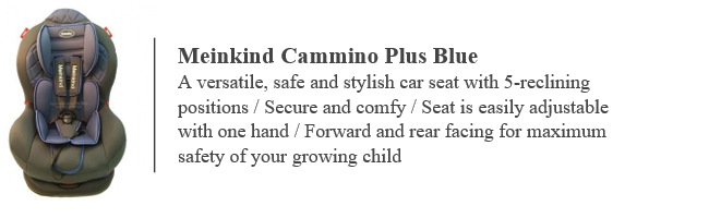 Meinkind Plus Blue baby car seat