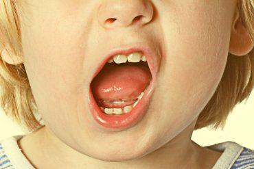 swearing kid
