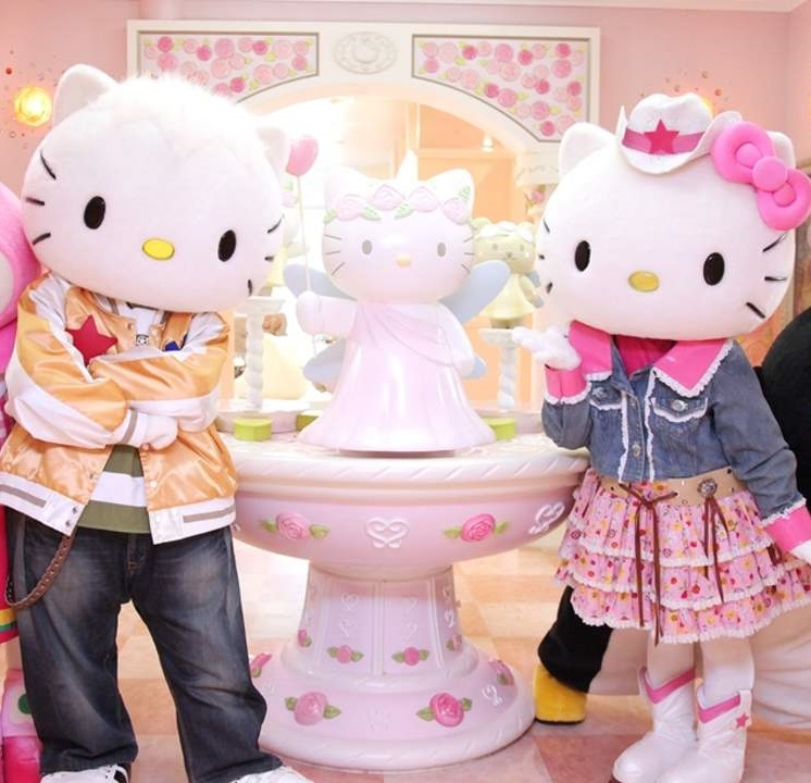 Hello Kitty town
