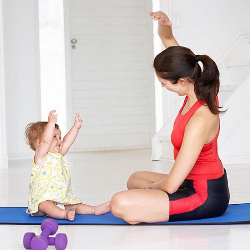 Pilates-mom