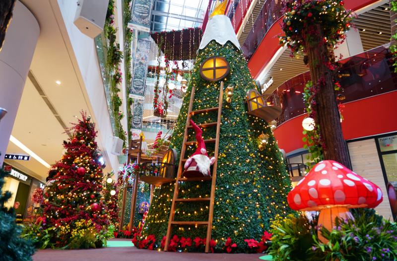 christmas at Sunway Putra Mall