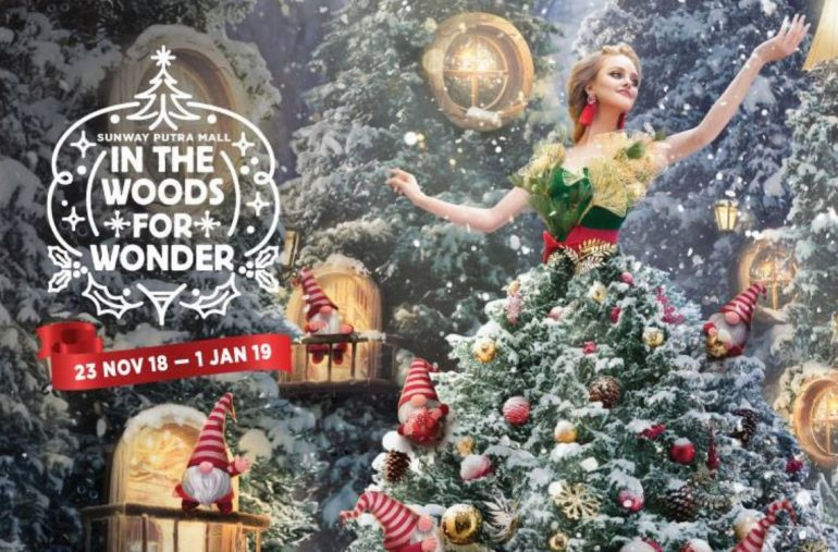 An Experiential Christmas With Forest Gnomes @ Sunway Putra Mall