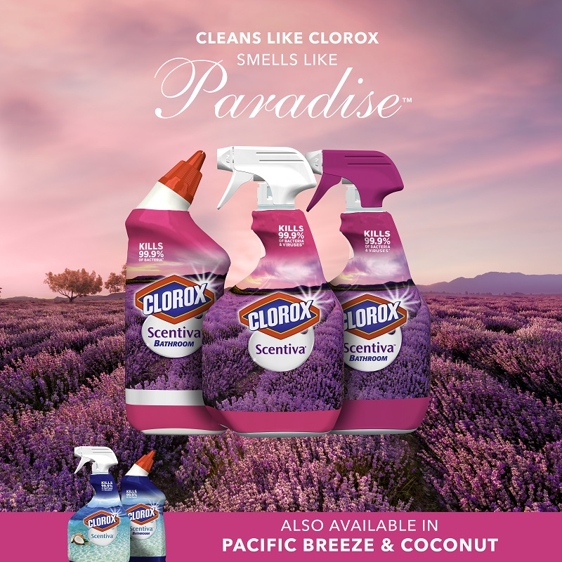 why you should get the all new clorox scentiva for your home
