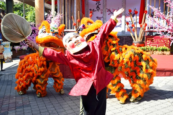 Let's funk with the Hip Hop Lion Dance troupe.