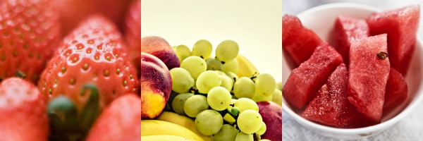 Fruits are colourful, sweet and pretty. This will attract kids to try them out.