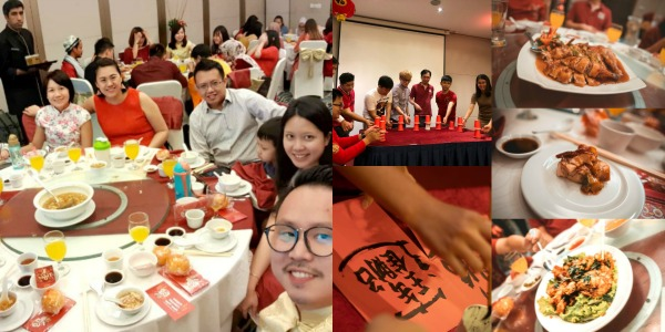 Snapshots of the highly successful 'Shou Gong' Dinner