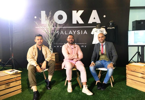 (Far Right) Jack and the team of fashion label LOKA (Image Credit: Jack Johnson)