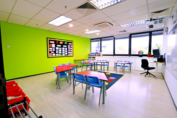 The Early Years Classroom at Lorna Whiston's new centre.