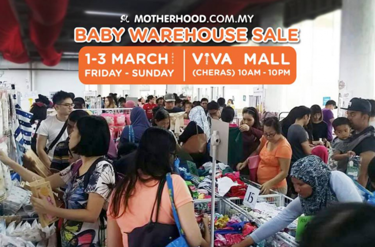 82f3bf02b89da Parents, heads up! The event you have all been waiting for is here! That's  right, Motherhood.com.my's Baby Warehouse Sale 2019 is back again this year!