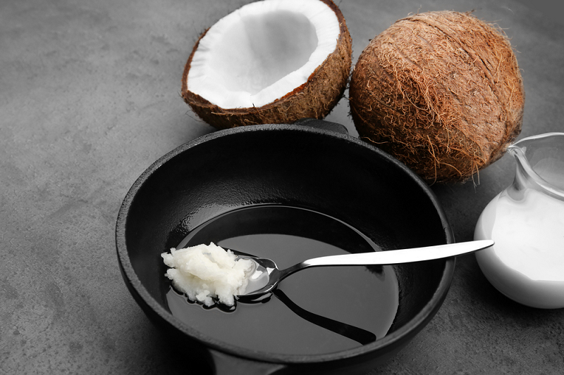 coconut oil in cooking