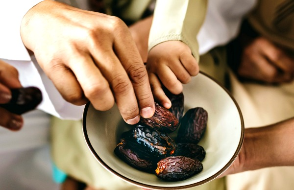 Dates are the ideal break fast food. They are easily digestible and give you lots of energy.
