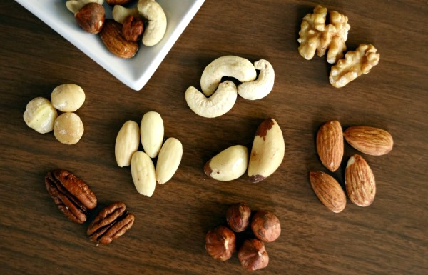 Nuts like almonds, walnuts, cashews contain an abundance of proteins, carbs, healthy fats such as omega-3 and omega-6 plus manganese, iron, B vitamins and vitamin E. These nutrients provide you with a slow release of energy during the day.
