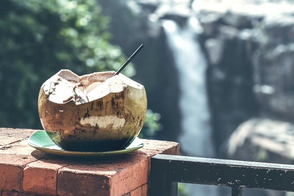 Coconut water is an all-natural way to quench thirst, boost hydration, cut sodium, and add potassium plus other vitamins, minerals and phytonutrients to the body.