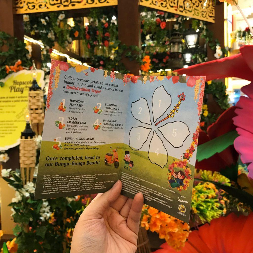 bunga raya at sunway pyramid
