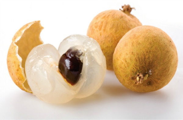 3 Longan fruits. Too heaty. Fruits and Vegetables in Malaysia