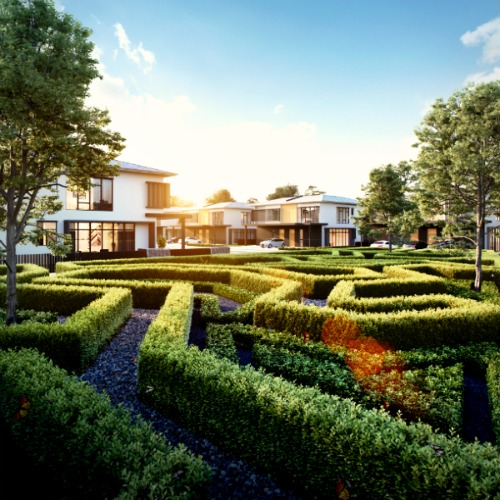 Maze garden of Eco Ardence Shah Alam Buy or Rent? A Housing Dilemma for Families in Malaysia