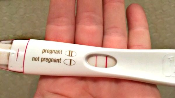 Pregnancy Test Positive. Seafood to Conceive