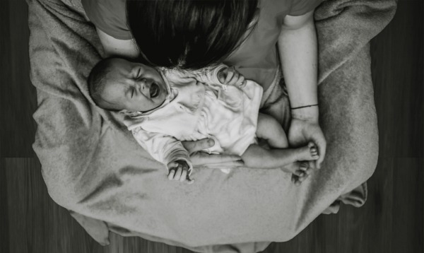 Crying baby. 9 Things Nobody Tells You When You START Breastfeeding