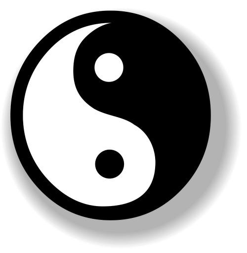 YinYang Symbol. 2 Confinement Drinks: Tea to Revitalise Body, Boost Circulation & Restore Qi
