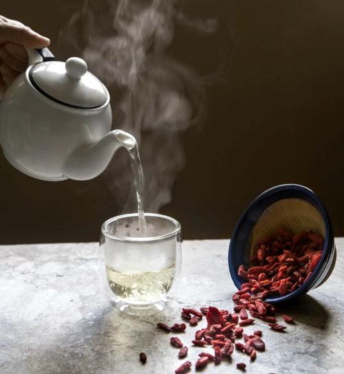Goji Berry Tea 1: Tea to Revitalise Body, Boost Circulation & Restore Qi