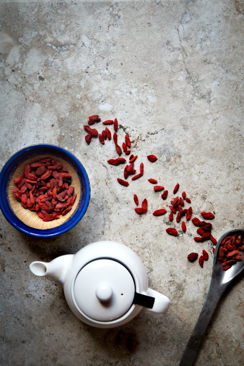 Goji Berry Tea2 : Tea to Revitalise Body, Boost Circulation & Restore Qi
