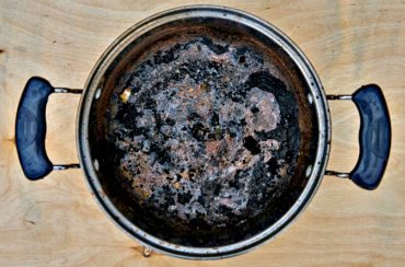 Burned Pot (Image Credit: Freepik)