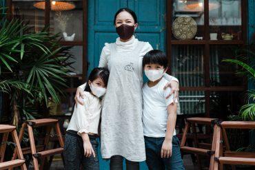 safely masking up