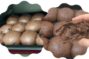 chocolate chip bun recipe