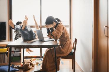 restless kids at home