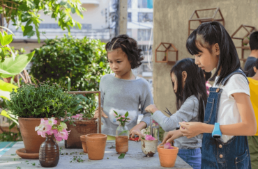 garden projects with kids