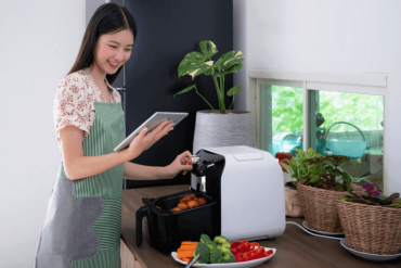 air fryer and food