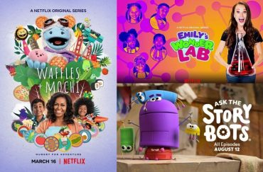 Here are some educational shows on Netflix that both you and your children can enjoy at home.