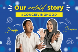 Syazni and Shafiq're here to talk about their conceiving journey.