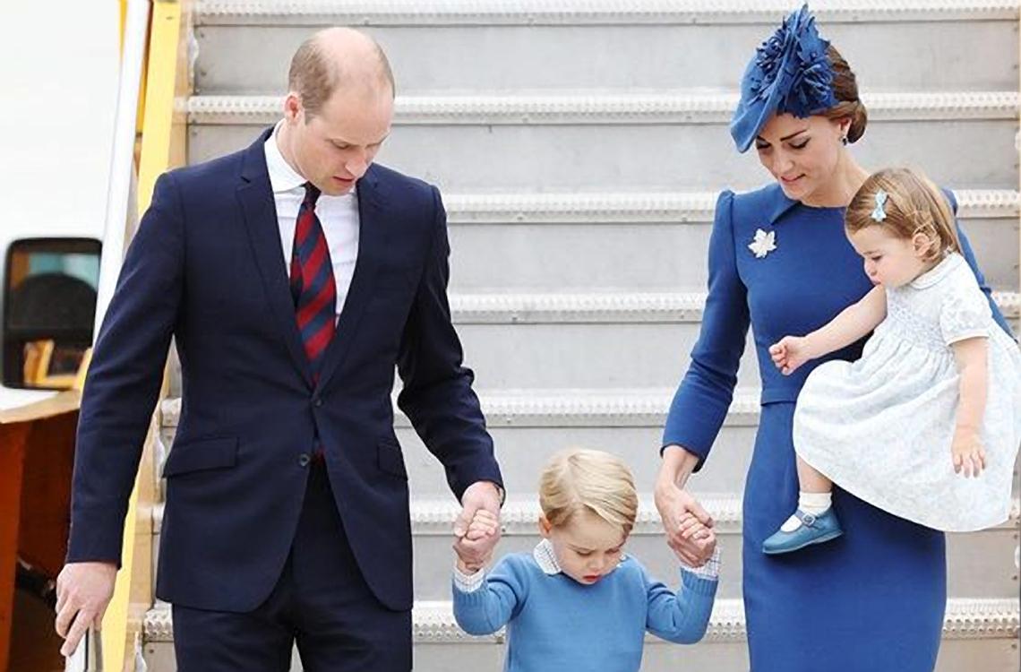 Pakaian anak-anak Kate Middleton