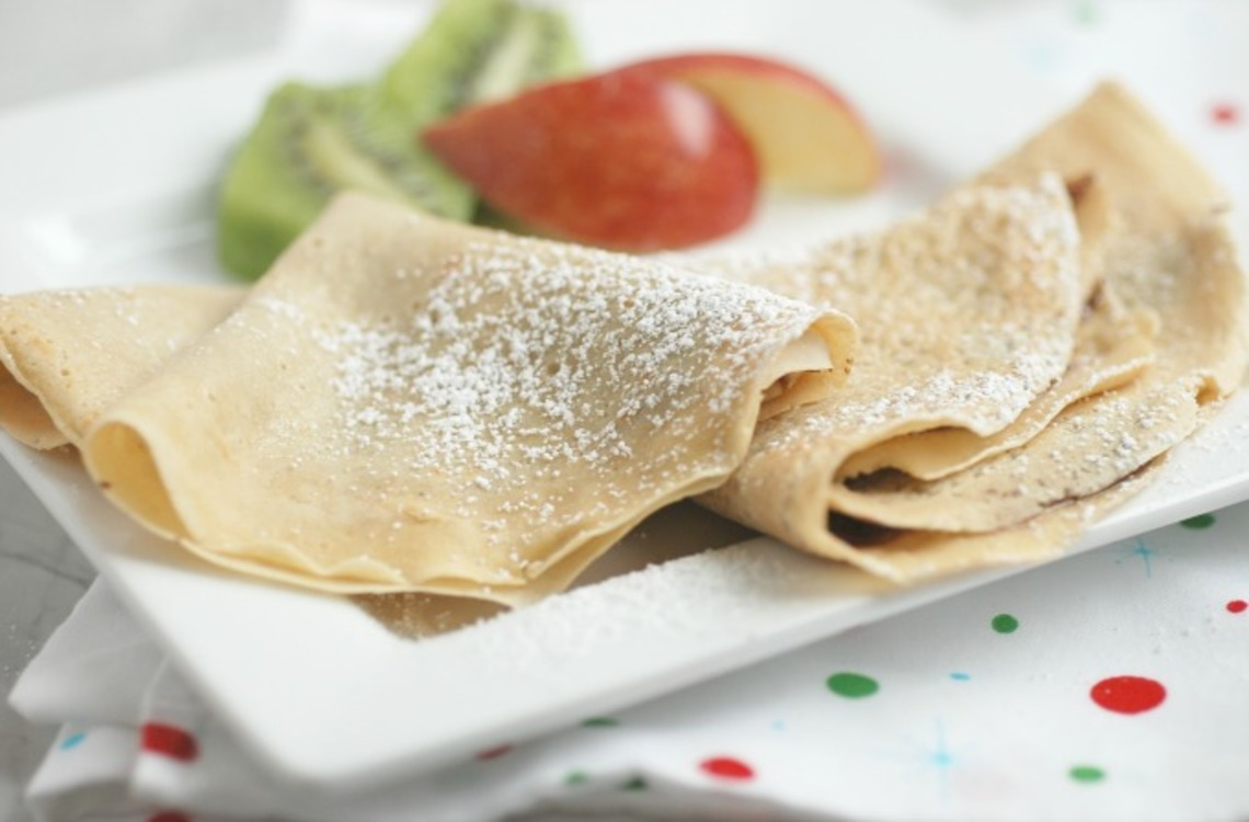 Wheat crepes