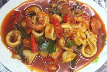 resepi sotong paprik